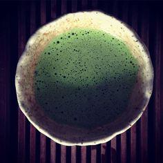 Yoshida-San's Gen Ryu #matcha | #teabar #o5 #Uji #Vancouver #Kitsilano #o5tea