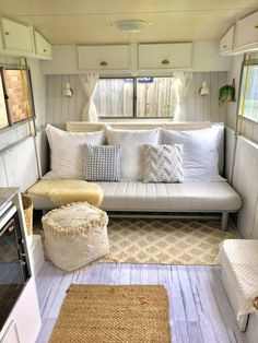 caravan interior 379498706103375693 - The ultimate Kmart caravan makeover – Homes, Bathroom, Kitchen & Outdoor Caravan Renovation Diy, Diy Caravan, Caravan Living, Caravan Home, Caravan Makeover, Retro Caravan, Camper Caravan, Caravan Storage Ideas, Caravan Interiors