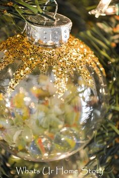 Handmade Christmas Ornaments -Marbles Ornament