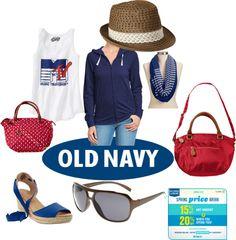 """""""Old navy"""" by yolandamorales on Polyvore"""