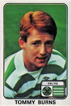 1979 Panini Football UK #455 Tommy Burns | The Trading Card Database Football Stickers, Football Cards, Baseball Cards, Celtic Fc, Trading Card Database, Burns, Scotland, Logo, Retro