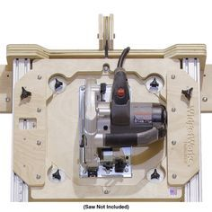 Deluxe Panel Saw Kit w/ 3 Interchangeable Cutting Tools - Circular Saw for Cutting Plywood