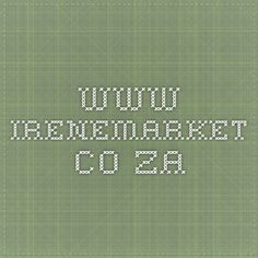 www.irenemarket.co.za Stuff To Do, Things To Do, Math Equations, Marketing, Things To Make
