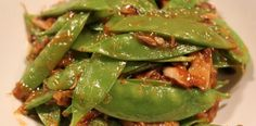 Mongolian Beefless Beef and Szechuan Snow Peas with Shiitake Mushrooms Coctails Recipes, Pea Recipes, Veggie Recipes, Asian Recipes, Vegetarian Recipes, Asian Foods, Tagine Recipes, Gnocchi Recipes, Healthy Dinner Options