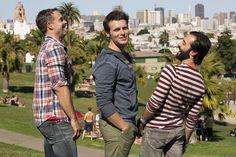 Looking HBO (Jonathan Groff, Murray Bartlett, Frankie J. Alvarez)