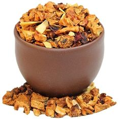 Capital Teas Roasted Almond Tea, 4 Ounce ** Awesome product. Click the image at  : Fresh Groceries