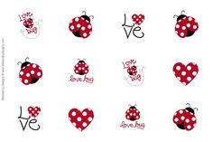 ZsBows: Free Love Bug Bottle Cap Images!!!!!