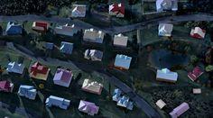 James Casebere, Landscape with Houses (Dutchess County, NY) #2, 2009, Courtesy MFA Financial Inc., New York © James Casebere, 2016