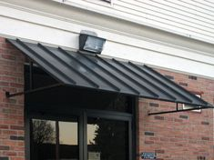 Armor-Clad Gallery Front Door Awning, Door Overhang, Porch Awning, Diy Awning, Patio Roof, Outdoor Window Awnings, Metal Awnings For Windows, House Awnings, Door Canopy