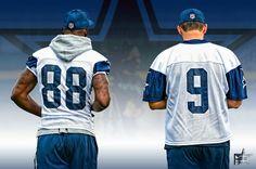 #DezBryant #TonyRomo #CowboysNation Are you ready for #DallasCowboys football? #TeamDCP #WeDemBoyz