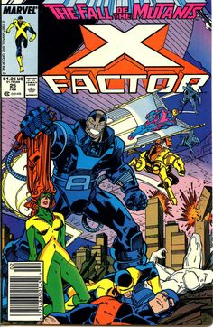 """My intro to #Apocalypse was during the """"Fall of the Mutants"""" #XMen event in X-Factor 25.  #ThrowbackThursday"""
