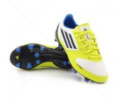 Botas de fútbol Adidas F30 TRX FG JUNIOR | White / Lab Lime 58,95€ (V21353) #botas #futbol #adidas #soccer #boots #football #footballprice