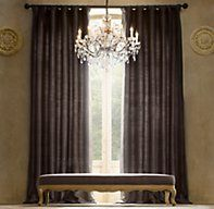 1000 images about window treatments on pinterest window for Restoration hardware silk curtains