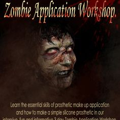 Prosthetics Application Workshop, Learning, Movie Posters, How To Make, Atelier, Teaching, Education, Studying, Film Posters