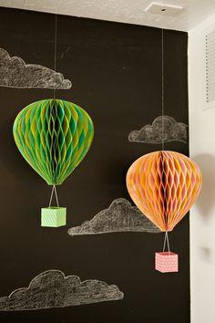 6th Street Design School | Kirsten Krason Interiors : Hot Air Balloon Deco Idea