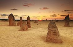 20 surreal places you need to see to believe The Pinnacles Cervantes, Australia