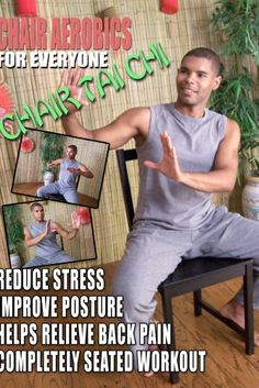 Chair Aerobics for Everyone - Chair Tai Chi * See this great product.
