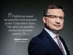 Cytaty tygodnia polityka Zbigniew Ziobro