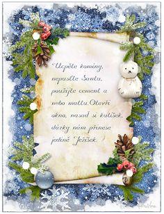 Vánoční přání 3 | vánoční blog Cement, Frame, Blog, Home Decor, Homemade Home Decor, A Frame, Blogging, Frames, Hoop