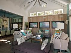 coastal living rooms with fireplace - Google Search