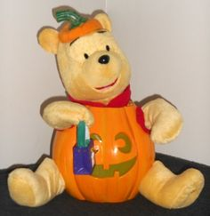 Winnie the pooh 12 inch halloween figure singing animated light up