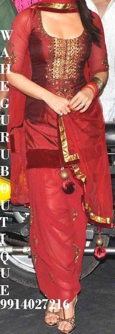 One of Angela's stunning Punjabi suits in HUSBAND STAY, book 2 of the #HusbandSeries