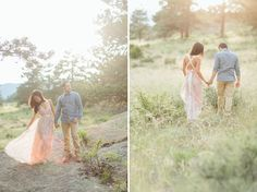 Sweet Summer Engagement Photos in Colorado