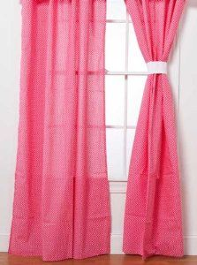 Amazon.com: Simplicity Hot Pink Drapes - 2 panels - 44in x 81 in: Baby