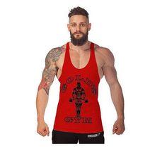 Golds Vest Mens Sleeveless Shirt Mens Bodybuilding Muscle Tank Top Sportswear Vest 2016 Cotton Vest Brand Muscle ManClothing
