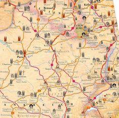 France Est : voies Compostelle