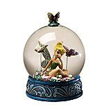 Disney Traditions 'Butterfly Kisses' Tinker Bell Globe