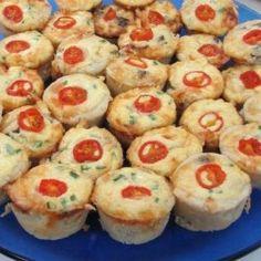 Mushroom and Tomato Quiches | Hispanic Kitchen