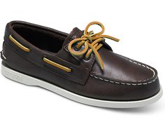 Classic Authentic Original Gore Boat Shoe, Brown