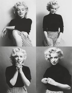 """I'm selfish, impatient and a little insecure. I make mistakes, I am out of control and at times hard to handle. But if you can't handle me at my worst, then you sure as hell don't deserve me at my best.""   — Marilyn Monroe"