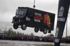 July 27, 2012 - Denuology.com: Taco Bell Airlifts A Food Truck By Helicopter Into A Remote Alaskan Village