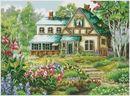 ДОМИКИ, ДВОРИКИ Cross Stitch, Mansions, House Styles, Gallery, Painting, Home Decor, Paisajes, Cross Stitch Landscape, Scenery Paintings