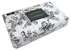 Ralph Lauren Black Toile Floral Rose Print 3pc King Duvet Cover Set Reversible to Stripes RALPH LAUREN http://www.amazon.com/dp/B00SJXNS8G/ref=cm_sw_r_pi_dp_FqO1ub0R03JZN