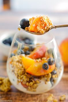 ... .com | Enjoy a healthy breakfast of yogurt, fresh fruit and granola