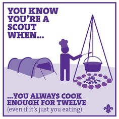 Cook for 12 Cub Scouts Wolf, Girl Scouts, Wood Badge, Scout Activities, Scout Leader, Eagle Scout, Girl Guides, Activity Centers, Young Boys