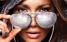 Óculos com cristais!