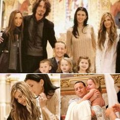 Cornell and Bennington families in better times. Beautiful photos.