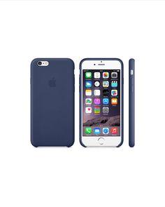 Coque en cuir iPhone 6 - Bleu nuit