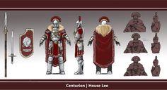 Centurion   House Leo by L3monJuic3.deviantart.com on @deviantART