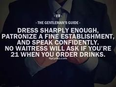 The Gentleman's Guide #8