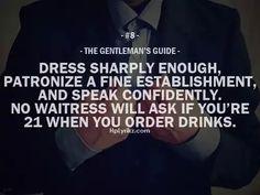 The Gentleman's Guide #8