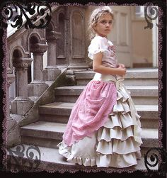 "Princess Dress....amazing inspiration I love the ""but shawl"" (for lack of better word ) tied around her waist"