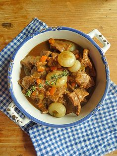 Almond Corner: Beef & Beer Stew