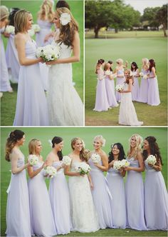 #lavender bridesmaid dresses ... Wedding ideas for brides & bridesmaids, grooms & groomsmen, parents & planners ... https://itunes.apple.com/us/app/the-gold-wedding-planner/id498112599?ls=1=8 … plus how to organise an entire wedding, without overspending ♥ The Gold Wedding Planner iPhone App ♥
