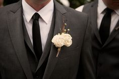 Balsa Flower Boutonniere by StacyHuntDesigns on Etsy, $12.00