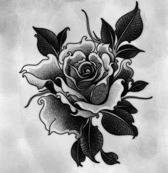 Tattoo Sketches, Tattoo Drawings, Body Art Tattoos, Sleeve Tattoos, Girl Tattoos, Flower Tattoo Designs, Flower Tattoos, Rosen Tattoos, Geniale Tattoos